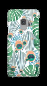 クジャク ブルー ケース Galaxy S9