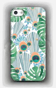 Sininen riikinkukko kuoret IPhone 5/5S