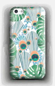 Sininen riikinkukko kuoret IPhone 5c