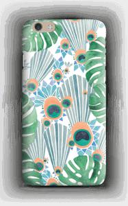 Sininen riikinkukko kuoret IPhone 6 Plus