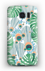 Blue Peacock case Galaxy S6