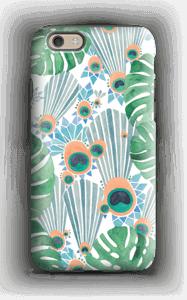 Sininen riikinkukko kuoret IPhone 6s tough