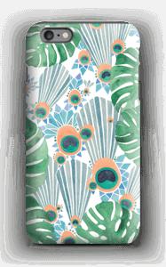 Sininen riikinkukko kuoret IPhone 6 Plus tough