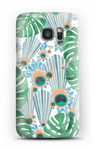 Blue Peacock case Galaxy S7