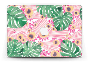 "Plantes & plumes roses Skin MacBook Pro Retina 13"" 2015"