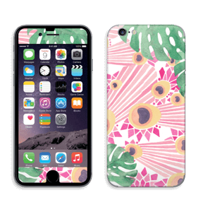 Pink Peacock Skin IPhone 6/6s