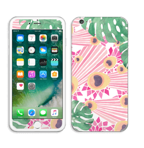 Plantes & plumes roses Skin IPhone 6 Plus