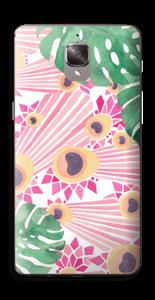 Plantes & plumes roses Skin OnePlus 3T