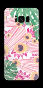 Pink Peacock Skin Galaxy S8