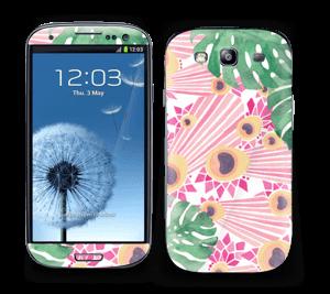 Lyserød påfugl Skin Galaxy S3