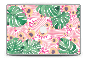 "Plantes & plumes roses Skin MacBook Pro 15"" -2015"