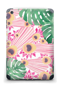 Plantes & plumes roses Skin IPad mini 2 back