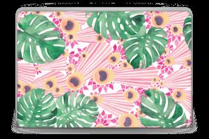 Pink Peacock Skin Laptop 15.6