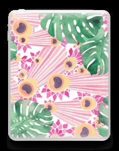 Plantes & plumes roses Skin IPad 1