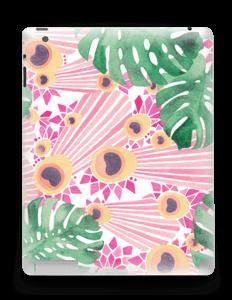 Plantes & plumes roses Skin IPad 4/3/2
