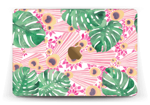 "Plantes & plumes roses Skin MacBook 12"""