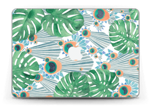 "Blauer Pfau Skin MacBook Pro Retina 13"" 2015"
