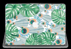 "Blue Peacock Skin MacBook Pro Retina 15"" 2015"