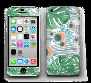 Blue Peacock Skin IPhone 5c