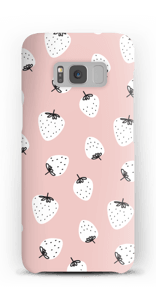 Jordbær cover Galaxy S8