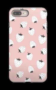 Mansikka kuoret IPhone 8 Plus tough