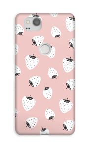 Jordbær cover Pixel 2