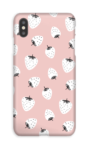 Jordbær deksel IPhone XS Max
