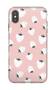 Strawberry case IPhone XS Max tough