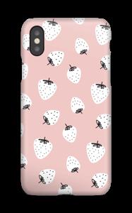 Jordbær deksel IPhone XS