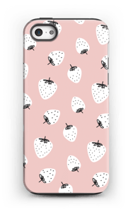 Jordbær deksel IPhone 5/5s tough