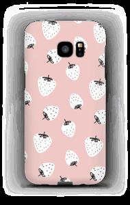 Erdbeeren Handyhülle Galaxy S7 Edge