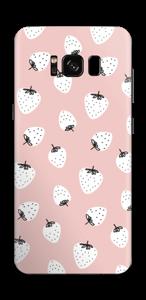 Jordbær Skin Galaxy S8