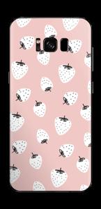 Jordbær Skin Galaxy S8 Plus