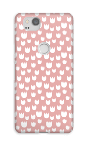Roses blanches Coque  Pixel 2