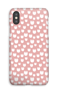 Roses blanches Coque  IPhone XS