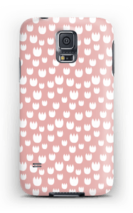 Lumpeen kukka kuoret Galaxy S5