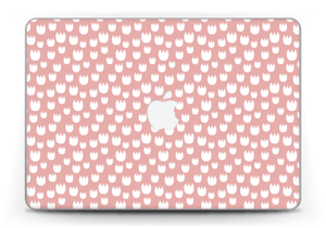 "Roses blanches Skin MacBook Pro Retina 13"" 2015"