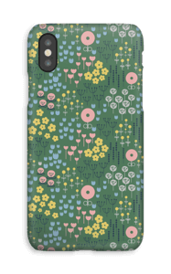Summer blossom case IPhone XS