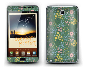 Summer flowers Skin Galaxy Note