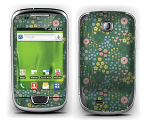 Summer flowers Skin Galaxy Mini