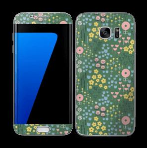 Fleurs d'été Skin Galaxy S7 Edge