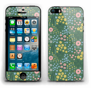 Summer flowers Skin IPhone 5s