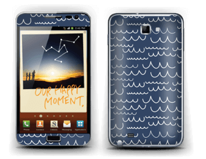 Waves Skin Galaxy Note