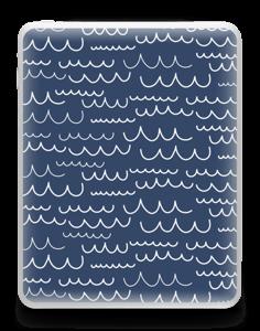 Waves Skin IPad 1