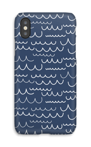 Bølger cover IPhone X