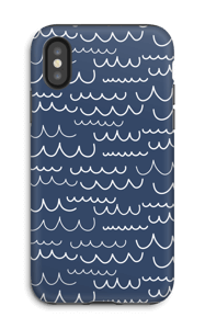 Vagues Coque  IPhone X tough