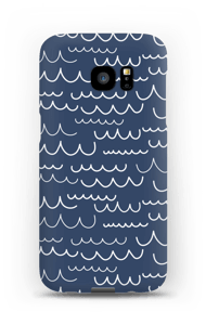 Aallot kuoret Galaxy S7 Edge
