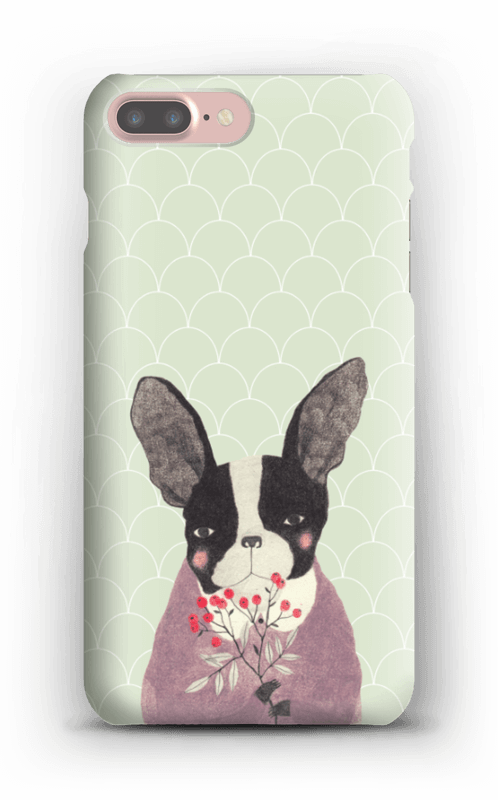 Fransk bulldog skal IPhone 7 Plus