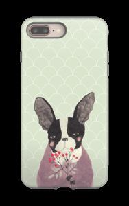 Ranskanbulldoggi kuoret IPhone 8 Plus tough