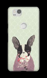 French bulldog case Pixel 2